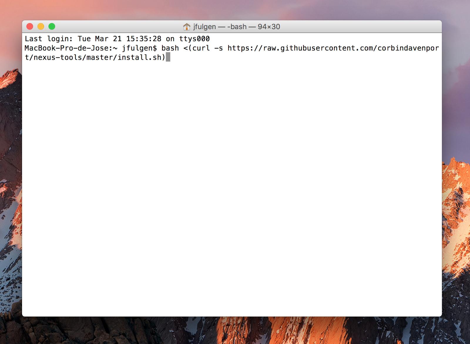 jfulgen blog: Instalar drivers ADB y Fastboot en Mac OS