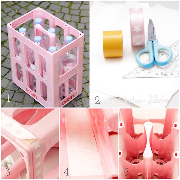 fl ckchenliebe diy ein rosafarbeneres weihnachtshaus wird zum mittelpunkt in der. Black Bedroom Furniture Sets. Home Design Ideas