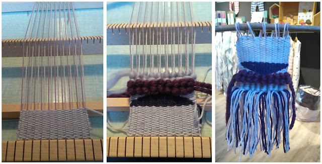 tissage, métier à tisser, laine, minus concept store, 36 bobines, savenay, bullelodie