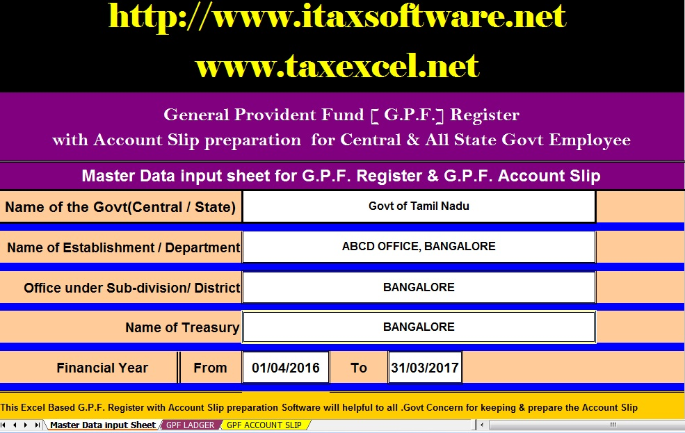 Free Download Automated General Provident Fund Interest