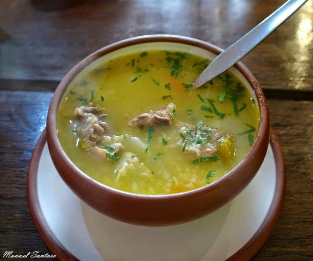 Cusco, D'Rose, sopa de pollo