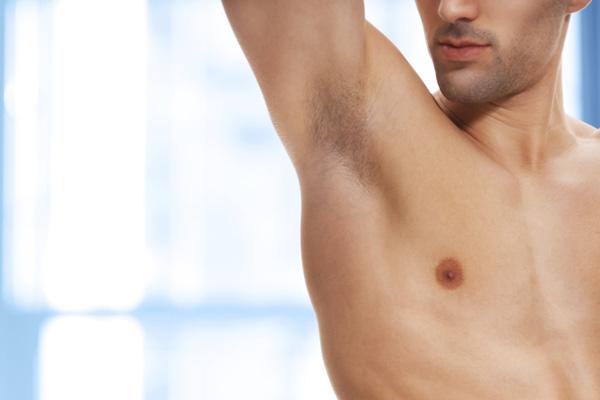 Guys shaved armpits