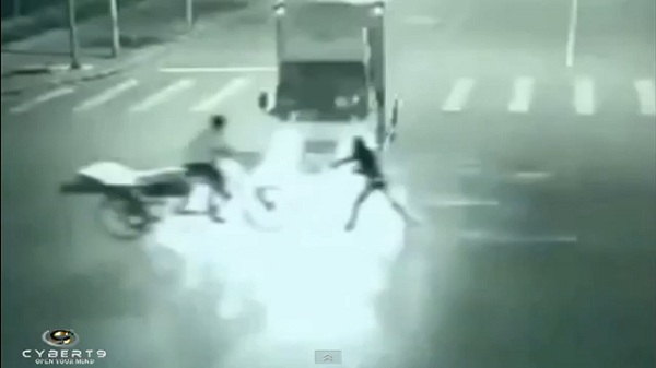 VIDEO: Chinese Man Caught Performing Teleportation