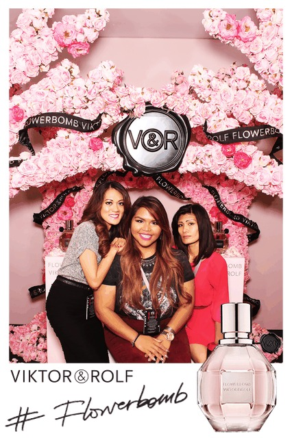 #Flowerbomb, #VFSC, Viktor and Rolf