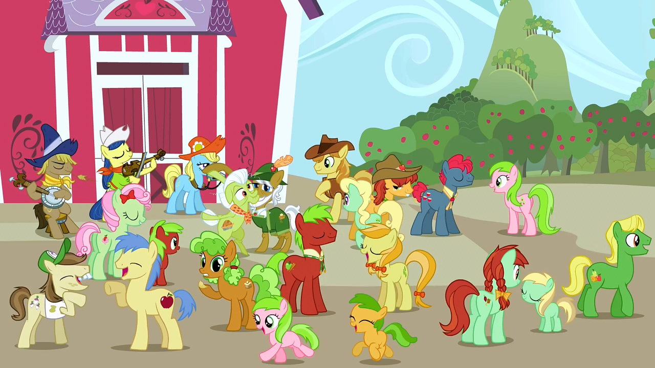 Apple Family Equestria Daily - MLP ...