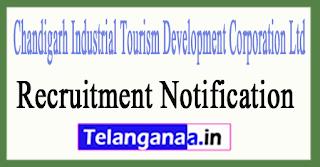 CITCO Chandigarh Industrial Tourism Development Corporation Ltd Recruitment Notification 2017