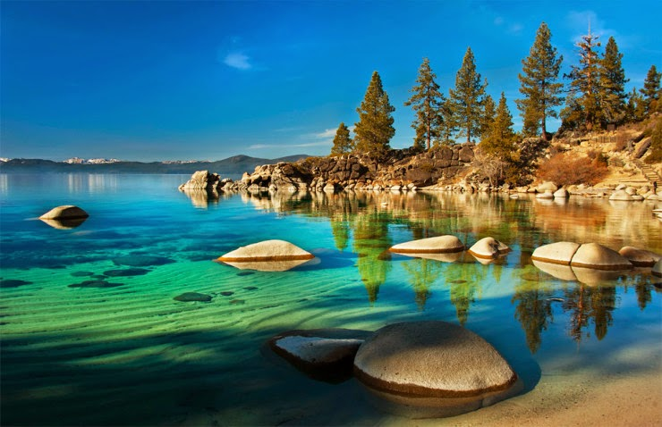 Tahoe Two Million Years Old Clear Alpine Lake In Usa