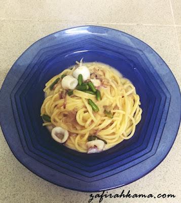 spaghetti sedap, ayam cendawan prego, prego kuah spaghetti, kuah putih, bolognese, tomato base, masam, sotong, cara memasak spaghetti, air rebusan spaghetti, air stok, stok rebusan
