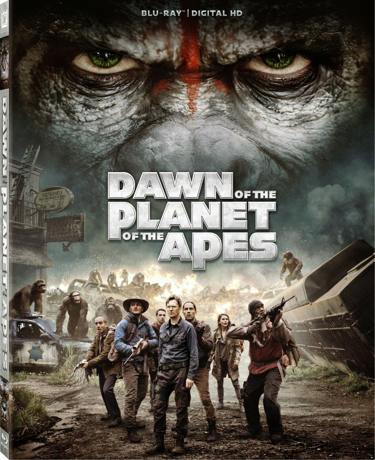 El Planeta De Los Simios Confrontación (2014) 1080p 2D y 3D BD25