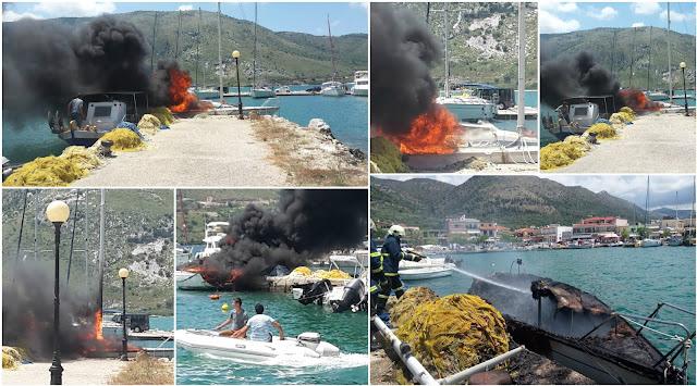 Ολοσχερώς καταστράφηκε το ιστιοπλοϊκό σκάφος στην Πλαταριά (+ΒΙΝΤΕΟ)