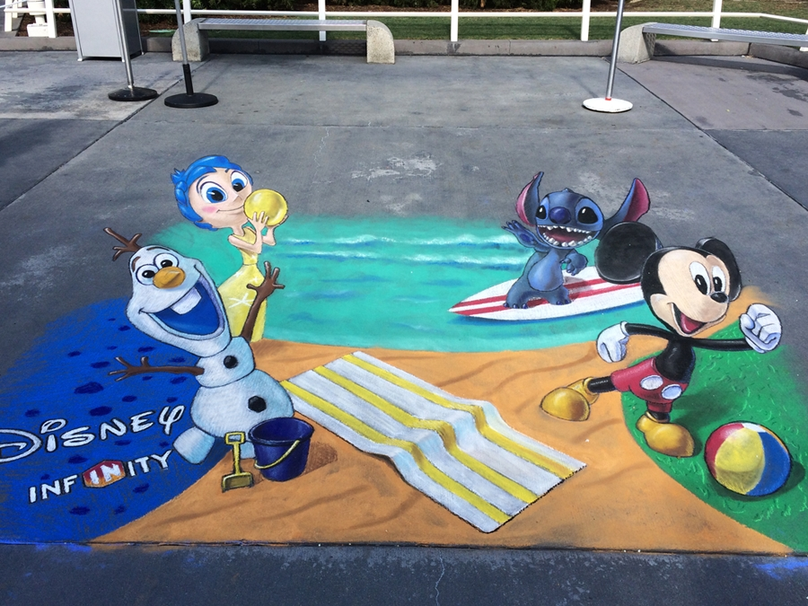 11-Disney-Chris-Carlson-3D-Street-Art-Drawings-and-Paintings-www-designstack-co