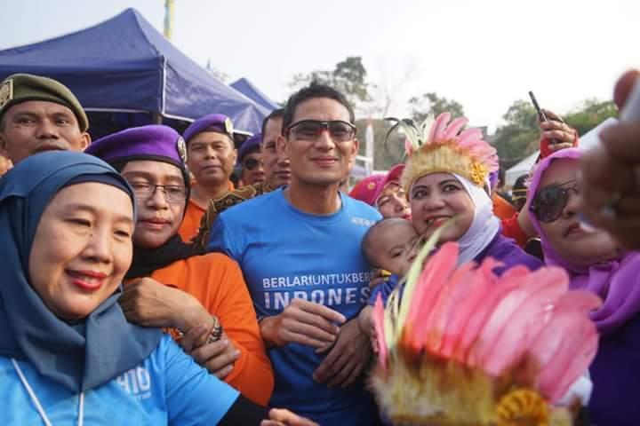 Respons Polisi ke Sandi Soal Pelarangan Gerakan #2019GantiPresiden