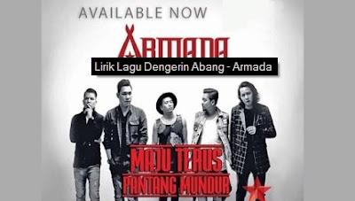 Dengerin Abang - Armada Band