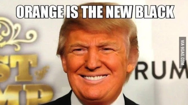 #Trump - #Orange is the new black