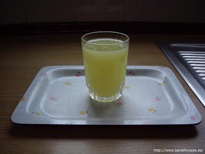 vaso de limonada