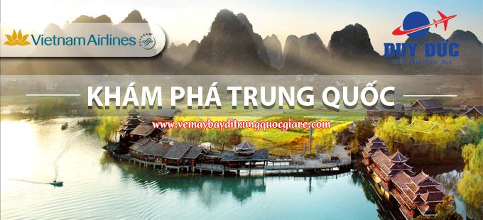 Vé Máy Bay Đi Trung Quốc Vietnam Airlines
