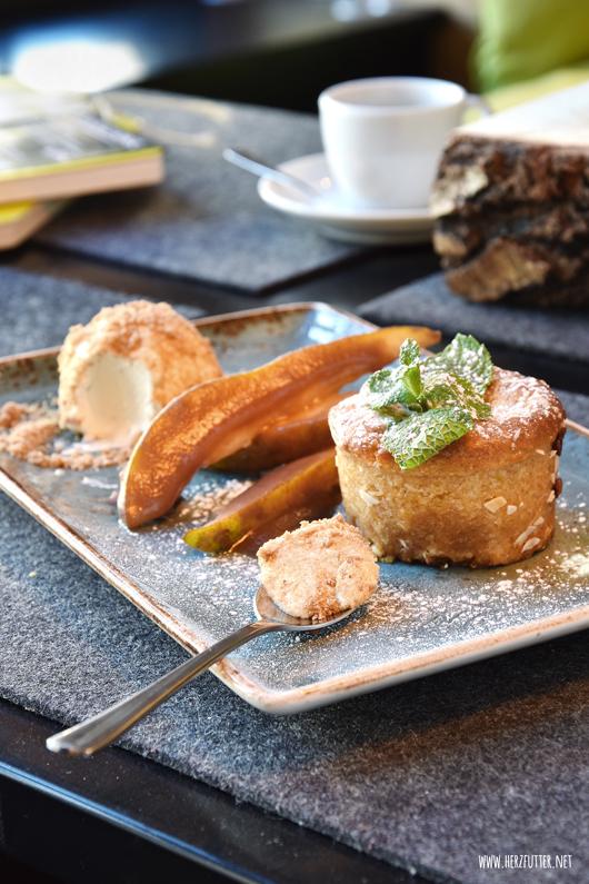 Winterliches Dessert im Hans im Glück Burgergrill