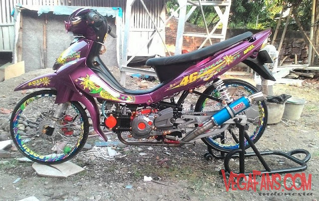 Jupiter Z Ungu Modif Look Style (Thailook)