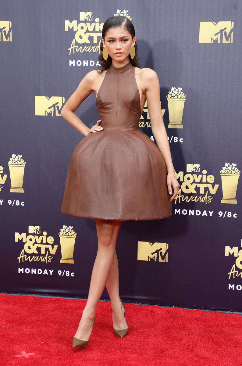 Zendaya MTV Movie & TV Awards, Arrivals, Los Angeles, USA