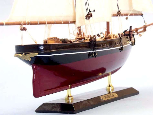 Sailboat America Model Ship