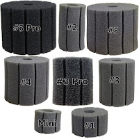 Aquarium Sponge Filter, replacement sponges