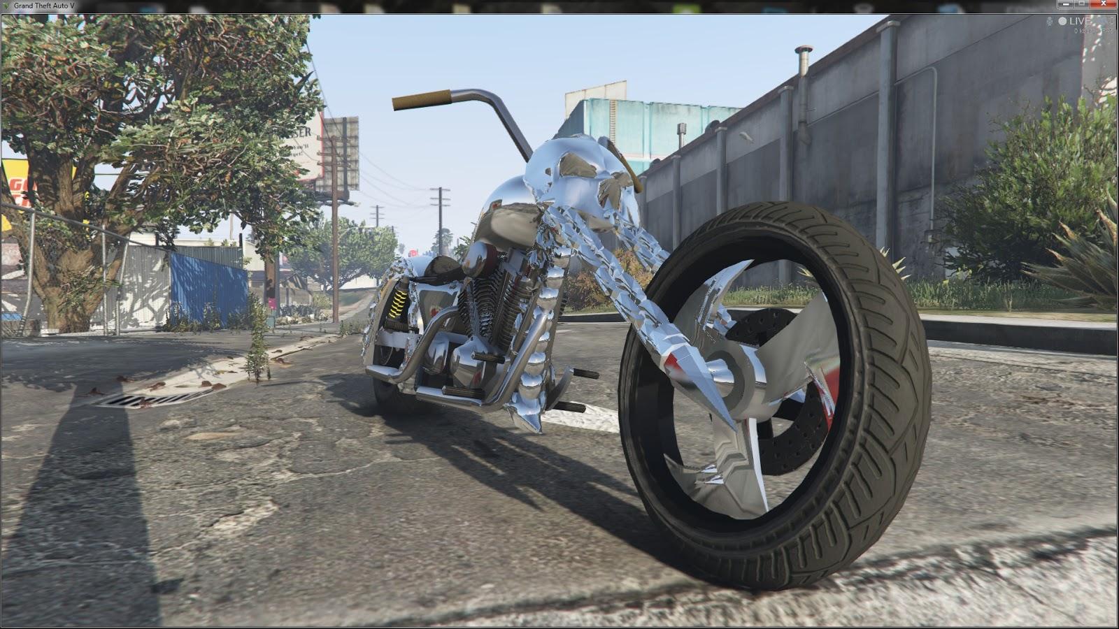 Gta X Scripting Gta V Ghost Rider Mod By Julionib