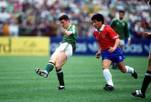 República de Irlanda y Chile en partido amistoso, 22 de mayo de 1991