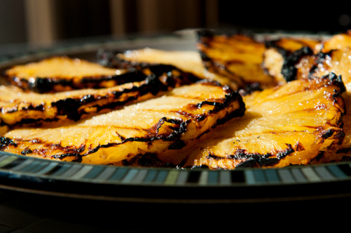 Featured Recipe | Grilled Caramelized Pineapple from Without Adornment #SecretRecipeClub #grill #pineapple #recipe