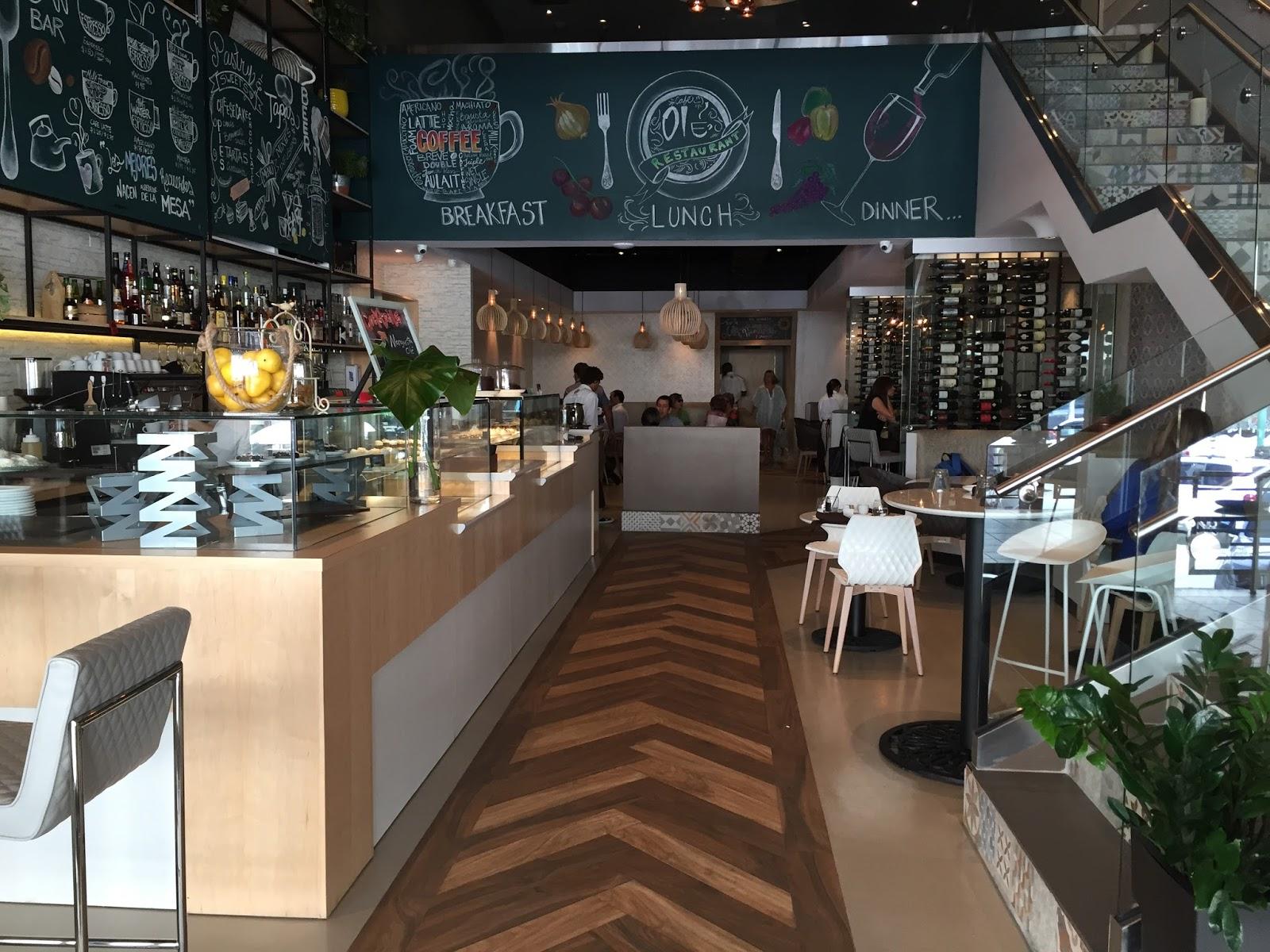 Cafe Ole San Patricio Menu