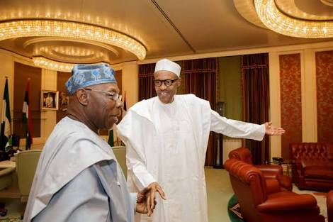 Obasanjo's son, Abraham, declares support for Buhari's re-election