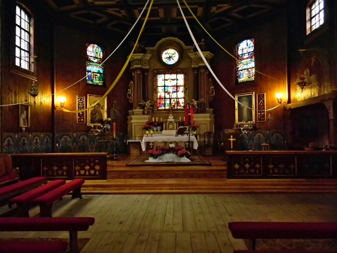 kościół w Bukowcu, drewniane budowle, świątynia