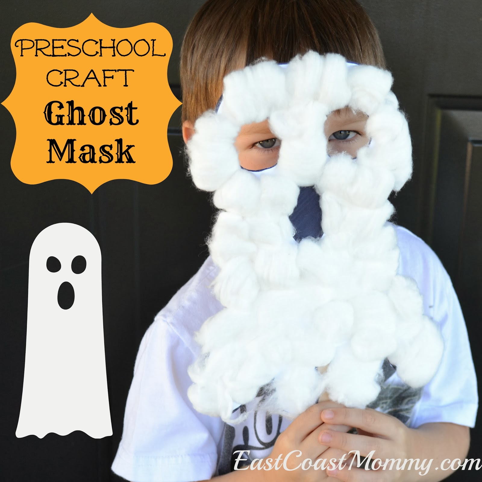 how to make ghost mask