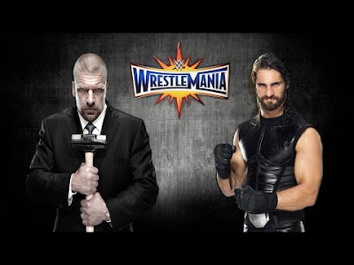 Triple H Vs Seth Rollins WM33