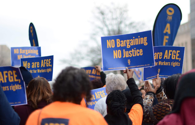 The union representing nearly 4,000 Department of Education employees nationwide, the American Federation of Government Employees, is echoing a call from three U.S. Senators for the department to return to the bargaining table and negotiate a fair, just, and legal contract