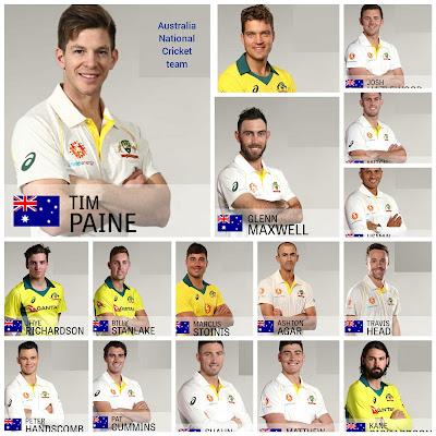 Australia National Cricket Team,  Australia National Cricket Team players list