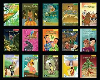 Buku-buku Bahan Bacaan Literasi Pilihan Cerita Rakyat dari 34 Provinsi