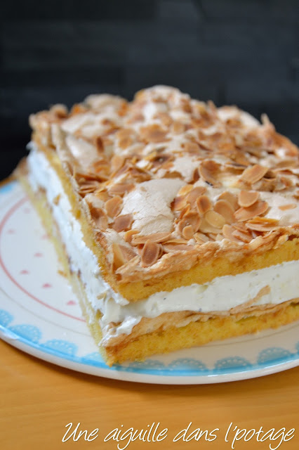 Kvaefjordkake ou Verden beste, le meilleur gâteau du monde