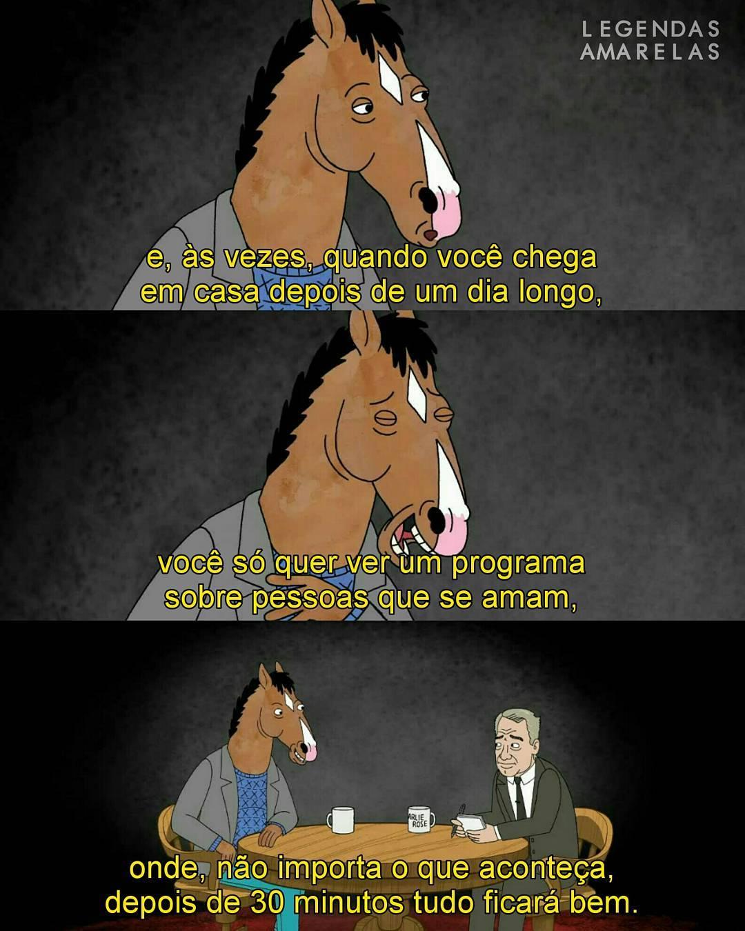 Bojack Horseman 19 Frases Para Refletir Legendas Amarelas