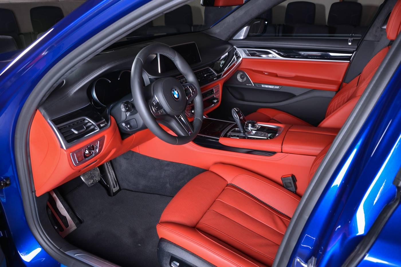 San Marino Blue BMW M760Li Looks Almost Perfect