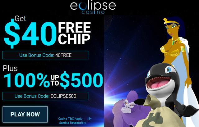 Eclipse Casino Welcome Bonuses