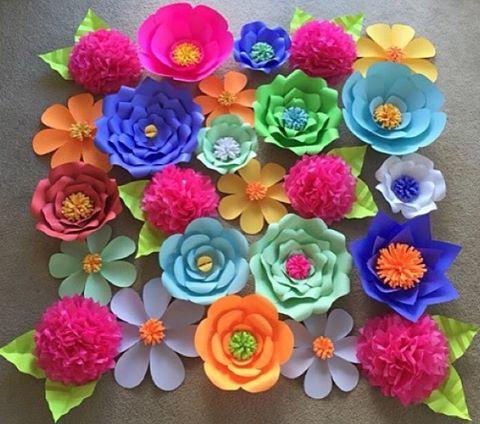 Mi link blog flores gigantes - Figuras decorativas grandes ...