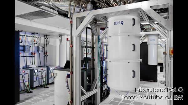 Laboratório de computação quântica da IBM