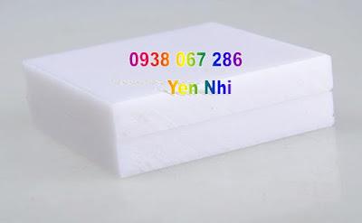 Tấm nhựa trắng pe trắng cắt theo yêu cầu