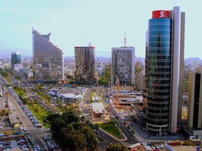 Distrito de San Isidro, distrito financiero de Lima