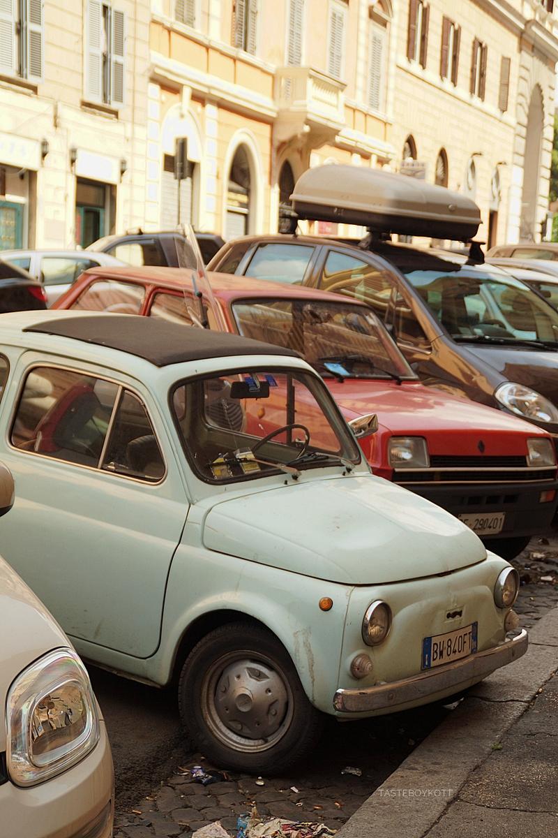 Mint Oldtimer in Rome, Italy // Oldtimer in mint in Rom | Tasteboykott