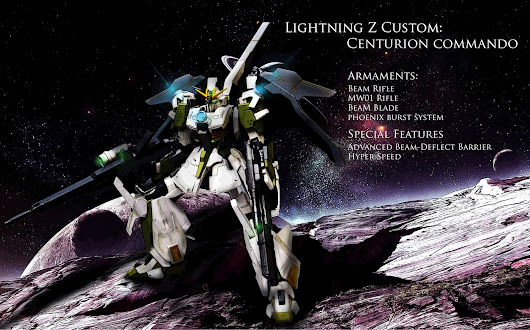 "CUSTOM BUILD: LIGTNING Z CUSTOM ""CENTURION COMMANDO"""