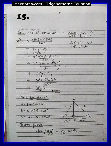 Trigonometric Equation images5