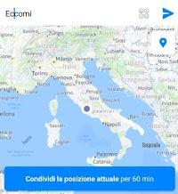 Facebook: Seguire gli spostamenti degli amici su Messenger in tempo reale