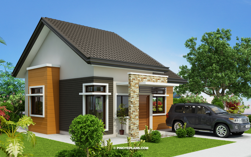 Myhouseplanshop Small House Plan Designed For Just 60 Square Meters