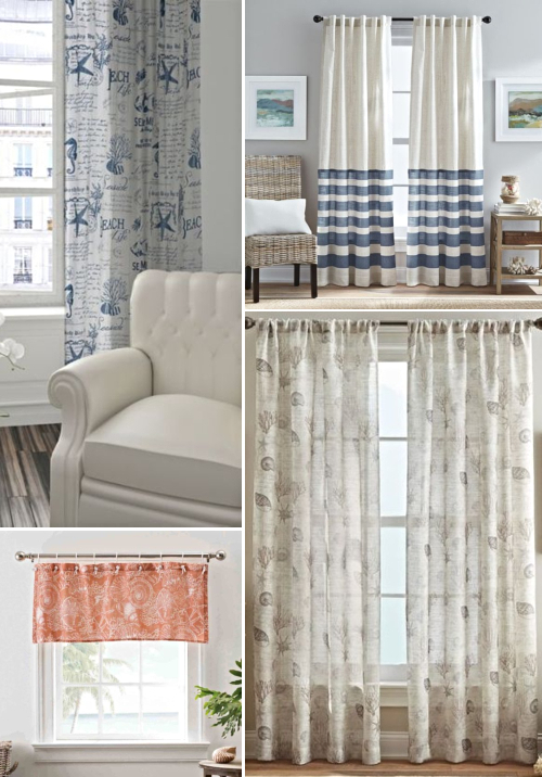 Coastal Window Curtains
